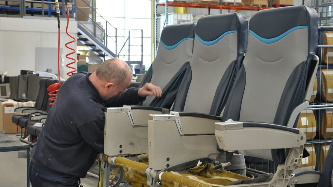 Aircraft Seat Refurbishment